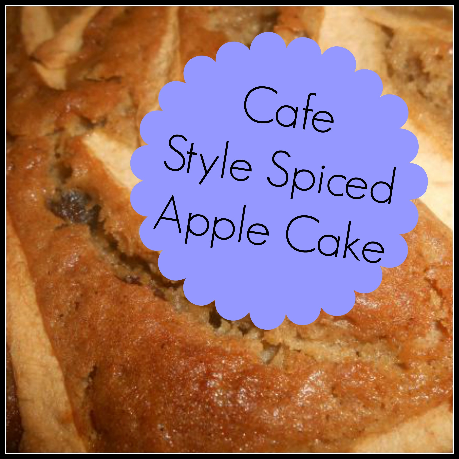 BEST Spiced Apple & Sultana Recipe!