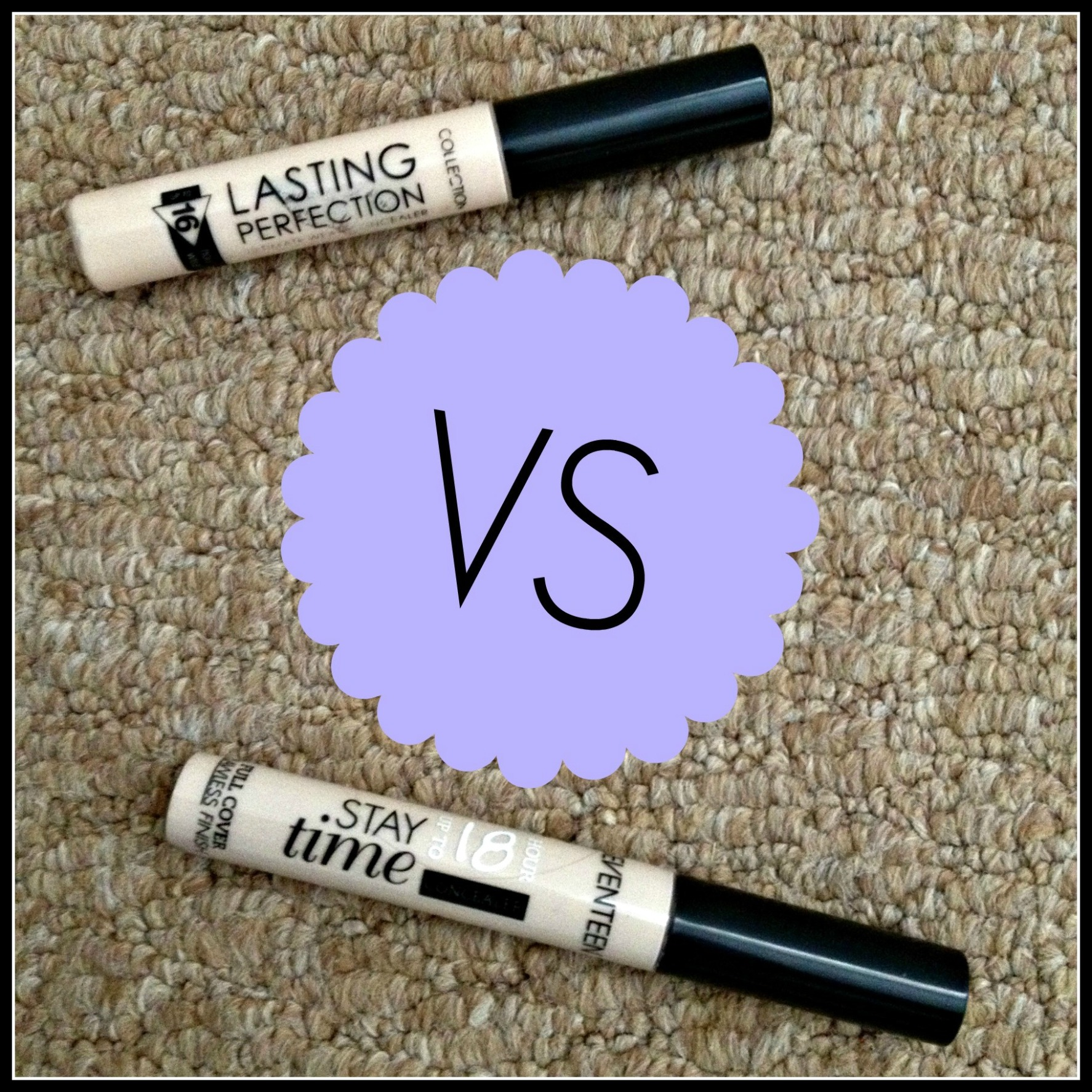 Concealer Battle: Collection VS Seventeen
