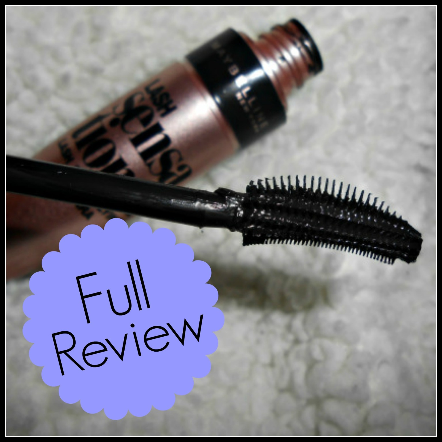Full Maybelline Lash Sensational Review